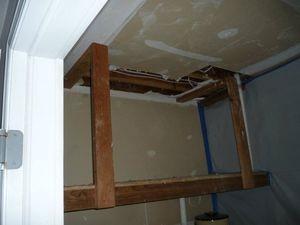 Water Damage Restoation of Furnace Room