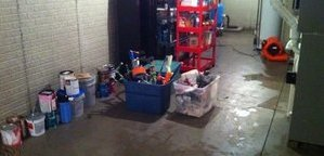 Garage Water Damage