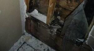 Water Damage Cypresss Restoration Of Closet Wall